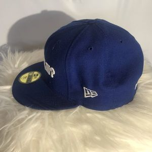 New Era Accessories - Blue And black  hat size 7 3/4 61.5 centimeters